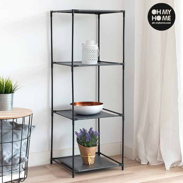 Oh My Home Metal Shelving Unit (4 Shelves)