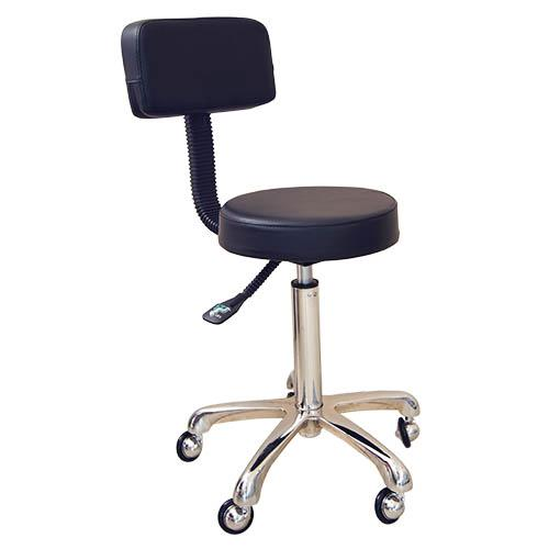 Stool GroomX Deluxe With Respaldo Para Hairdressers Dog And Others Uses.