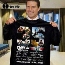 35 ano da arma superior 1986-2021 assinado obrigado pelas memórias camiseta