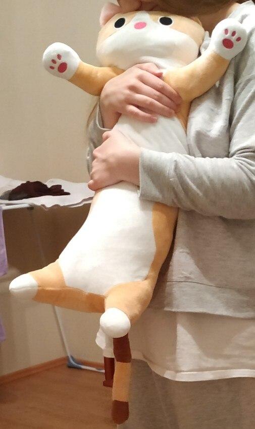 Plush Animals Cat Rabbit Creative Long Soft Gift Creative Office Lunch Break Nap Sleeping Pillow Cushion Plush Stuffed Gift Doll