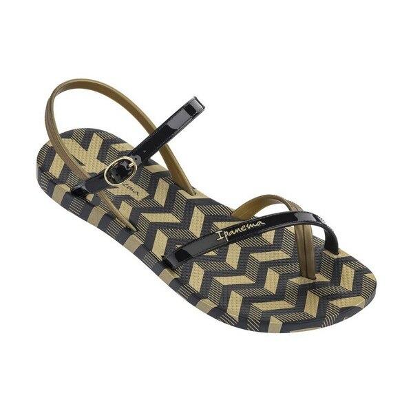 Women's sandals Rider Fashion Sand V Black Gold (Size 39)   - title=
