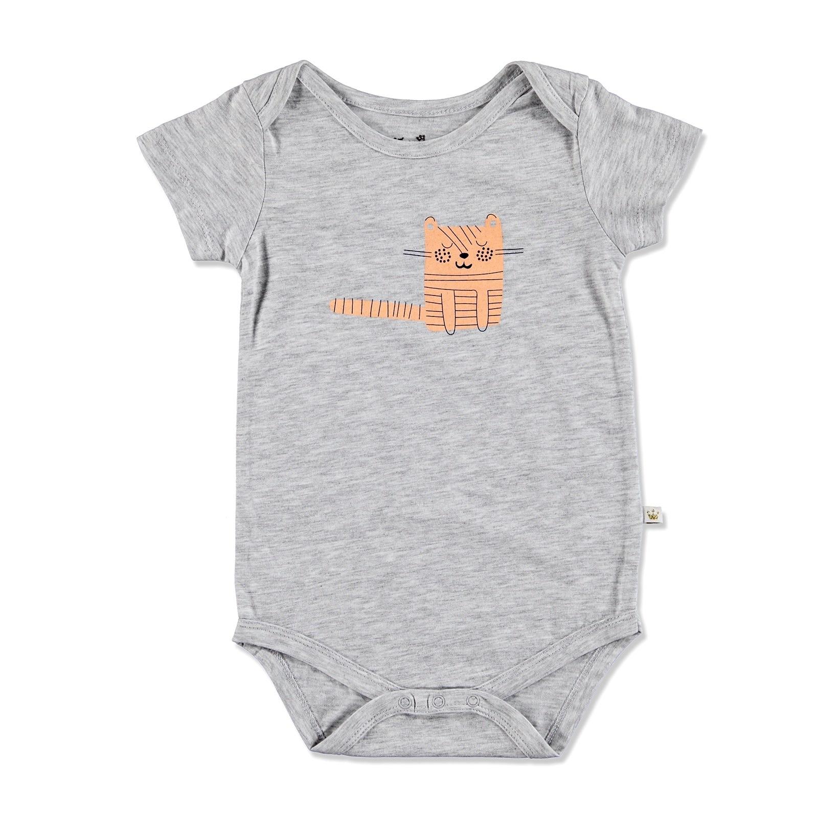 Ebebek For My Baby Summer Boy Alf Supreme Short Sleeve Bodysuit