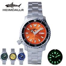 Автоматические Мужские часы heimdallr nh36a механические 62mas