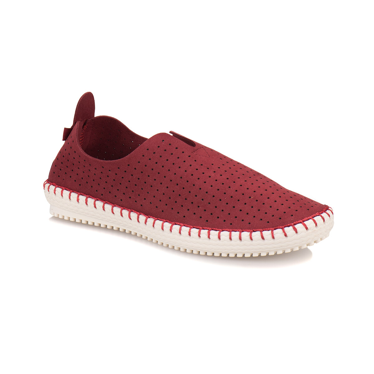 FLO A1300296 Burgundy Men 'S Sneaker Shoes KINETIX
