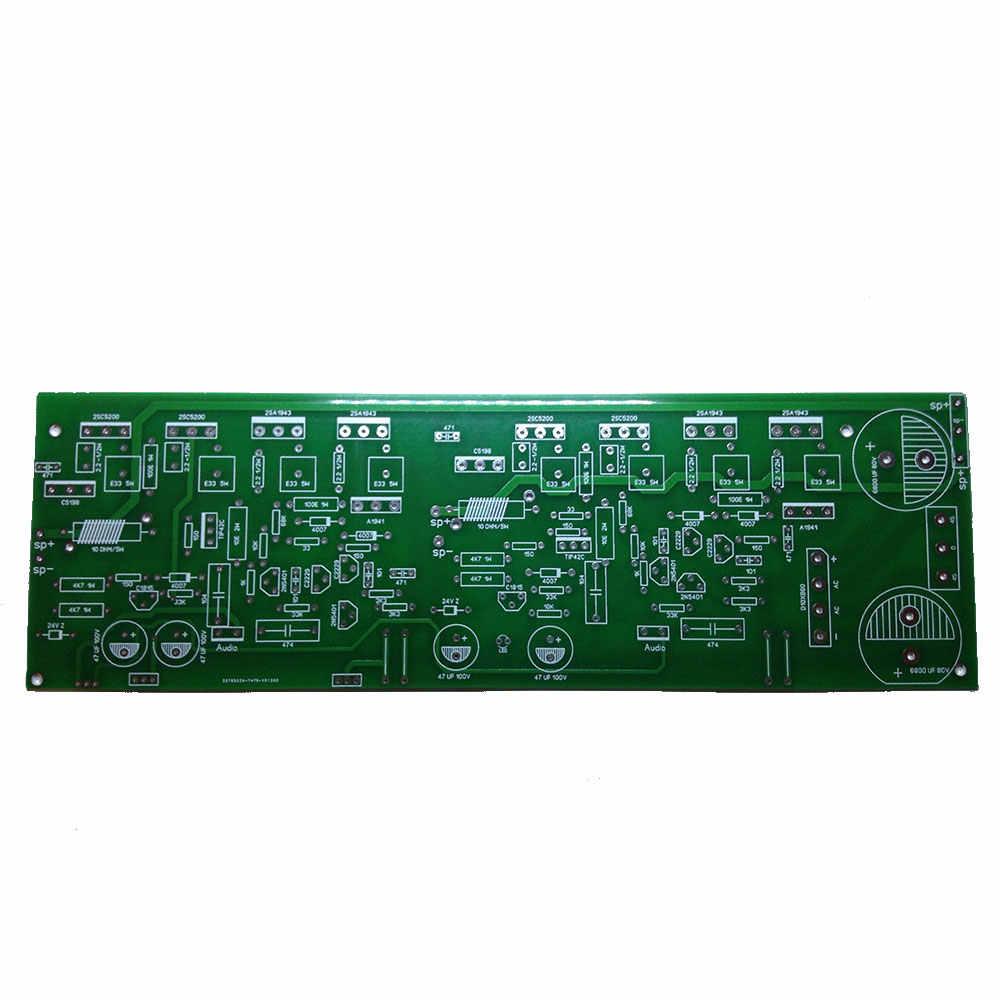 400 ואט סטריאו אודיו מגבר לוח DIY 2SC5200 + 2SA1943 כולל 2X200 ואט מגבר