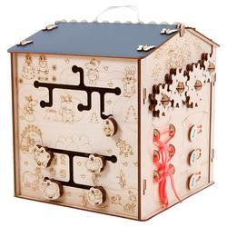 Apprentissage busybox panneau occupé pour enfants en bois busyboard montessori puzzles jouets éducatifs