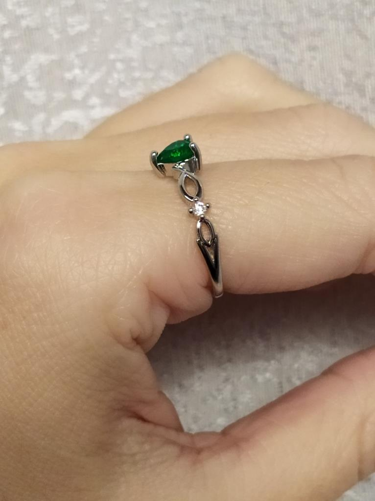 Simple Heart Ring For Women photo review