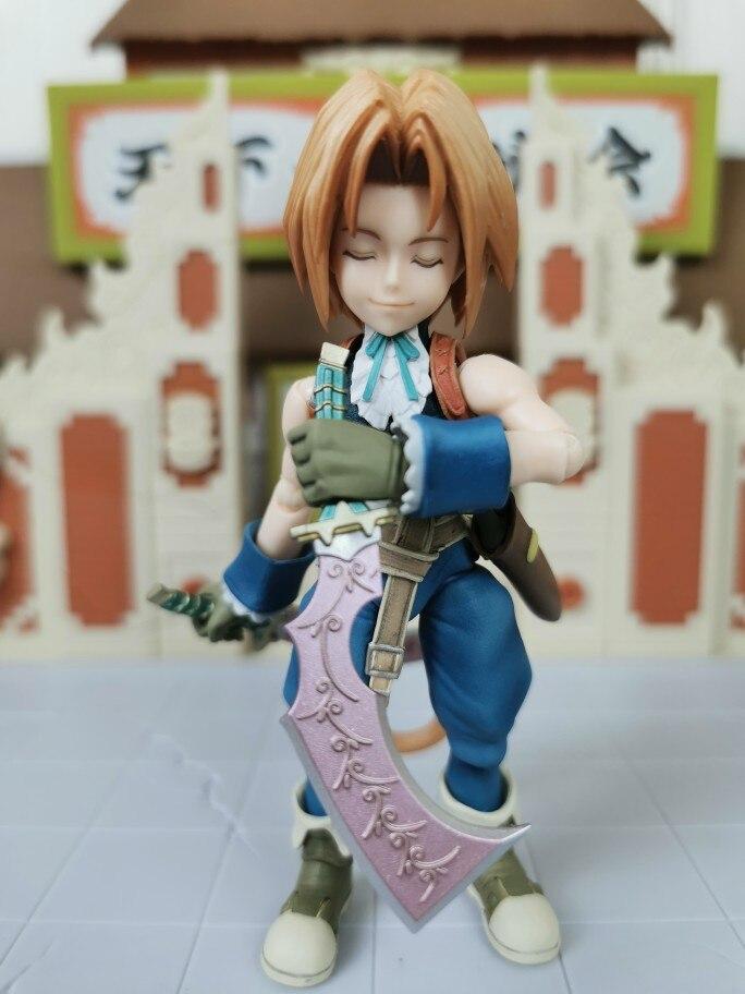 Play Arts Final Fantasy IX Figure Garnet Til Alexandros 17th FFIX FF9 Zidane Tribal Dagger Original LOOSE Action Figure Doll Toy photo review