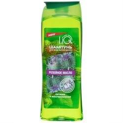 Шампунь LiQ, Репейное масло, для всех типов волос, питание и восстановление, 400 мл