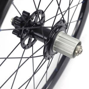 "Image 5 - Silverock Legierung Räder 16 ""1 3/8"" 349 Disc Bremse 24H für Fnhon Gust Klapp Fahrrad Individuelle Fahrrad laufradsatz Fahrrad Teile"