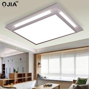 Image 2 - Led ceiling lights square white dimmer or switch for sitting room retange led commercial ceiling light fixtures luminaria teto