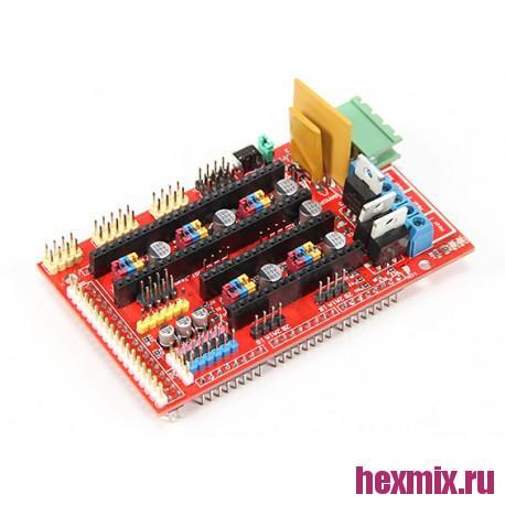 RAMPS 1.4 Motherboard For 3D Printers And CNC Machines