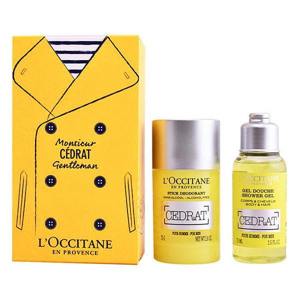Men's Cosmetics Set Eau De Cedrat L´occitane (2 pcs)