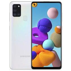 Samsung Galaxy A21s 3 Гб/32 ГБ Белый с двумя SIM-картами A217