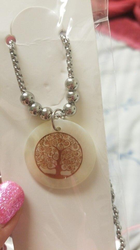 Collier arbre de vie et nacre