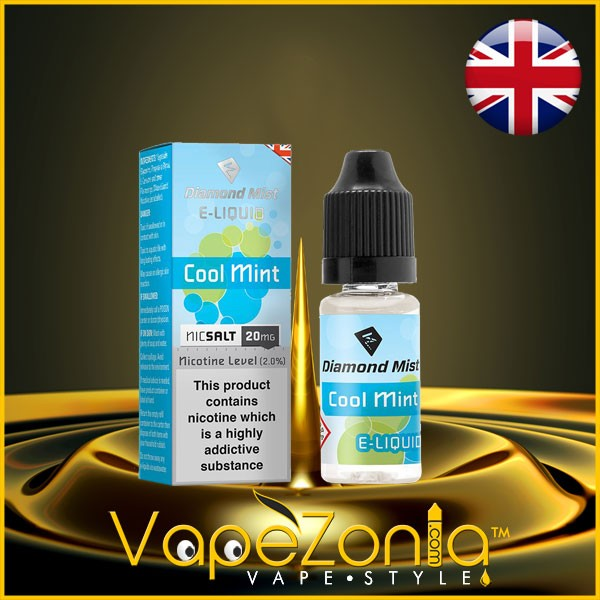 Diamond Mist Nic Salt COOL MINT 20 Mg - 10 Ml