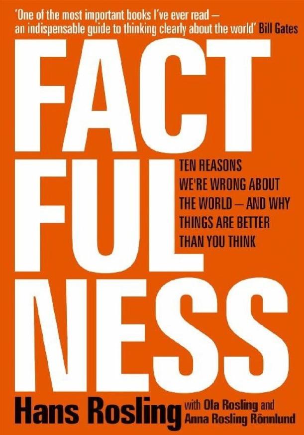 《真实性:我们对这个世界错误的十个原因,以及为什么事情比你想象的要好》封面图片