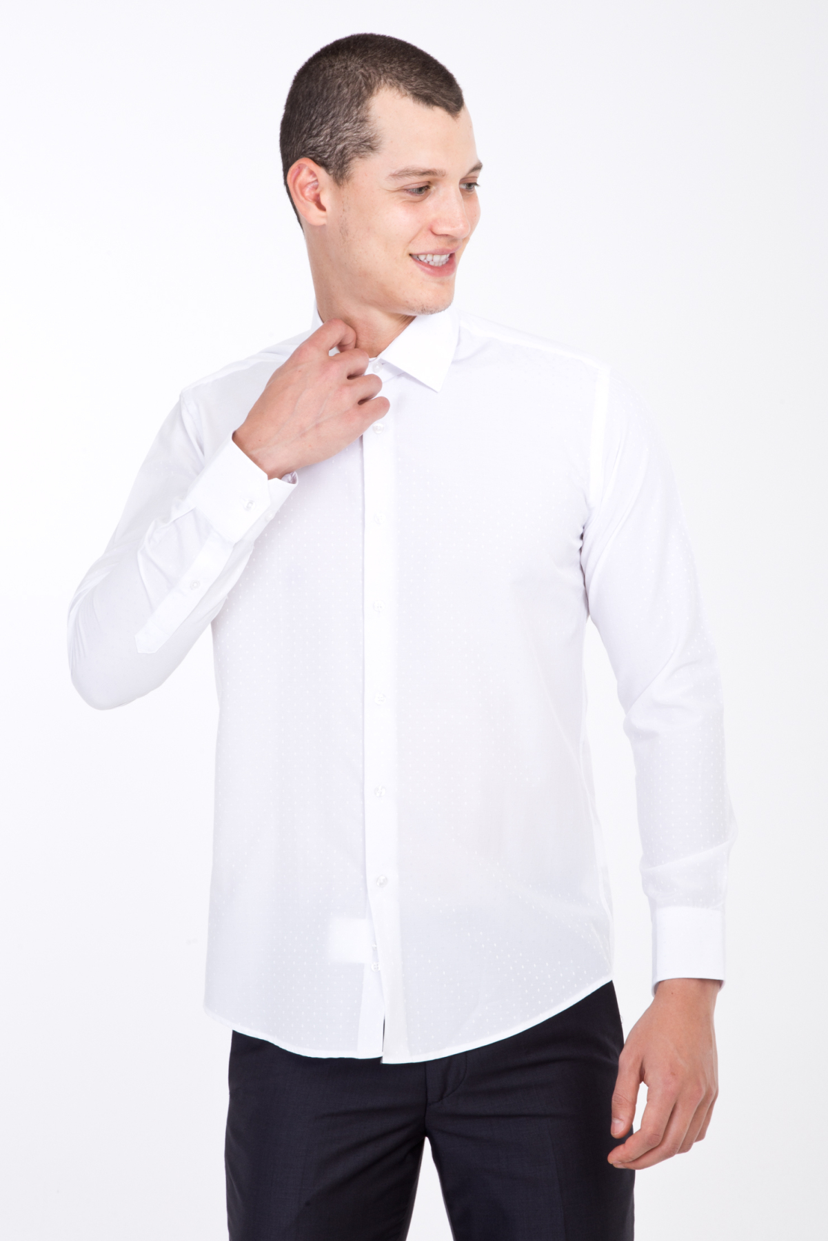Kigili Mens Shirts Long Sleeve Solid Oxford Dress Shirt Skin-Frinedly High Quality Male 'S Casual Regular Slim Fit Tops Button Down Shirts