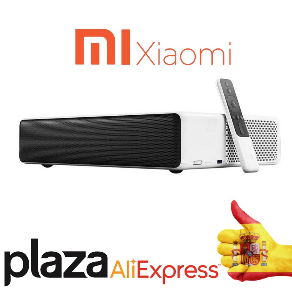 Globale Version Xiaomi MiJia Ultra Kurze Werfen laser projektor 150 zoll 5000 ANSI 1080P 4K 3D bis hause android TV theater WiFi