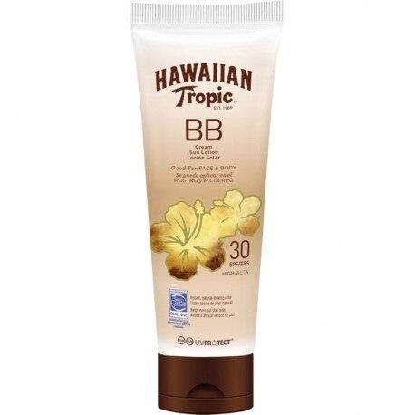 BB CREAM LOTION HAWAIIAN TROPIC SOLAR FACE BODY SPF30 150ML