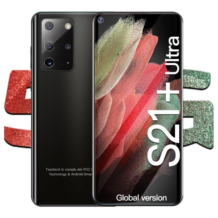 Galay S21 Ultra 5G Smartphone Android 512GB 5000mAh telefony komórkowe wersja globalna telefon inteligentny telefon z 7.2 cala podwójna karta Sim