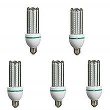 Lámpara Bombilla Led 4U Tubo E27 6400 K Luz Fría 16 W 40846