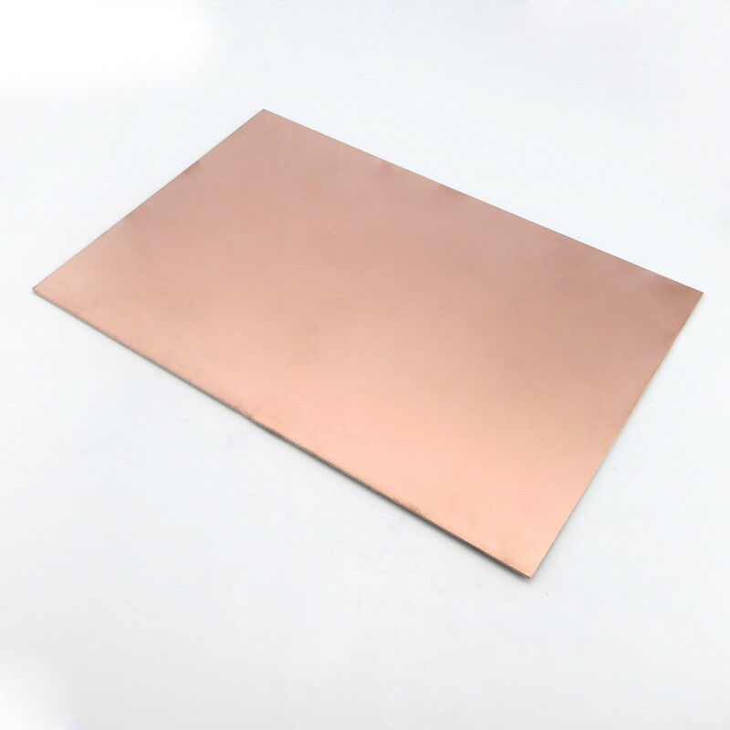 Laminated Fiber Glass DIY Copper Clad Plate 15x20cm Single Sided PCB Circuit Board
