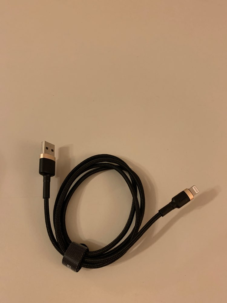 Baseus USB Cable For iPhone XS Max XR X 8 7 6 6s Plus 5 5S SE iPad Pro 2.4A Fast Charging Charger Data Cord Mobile Phone Cables-in Mobile Phone Cables from Cellphones & Telecommunications on AliExpress