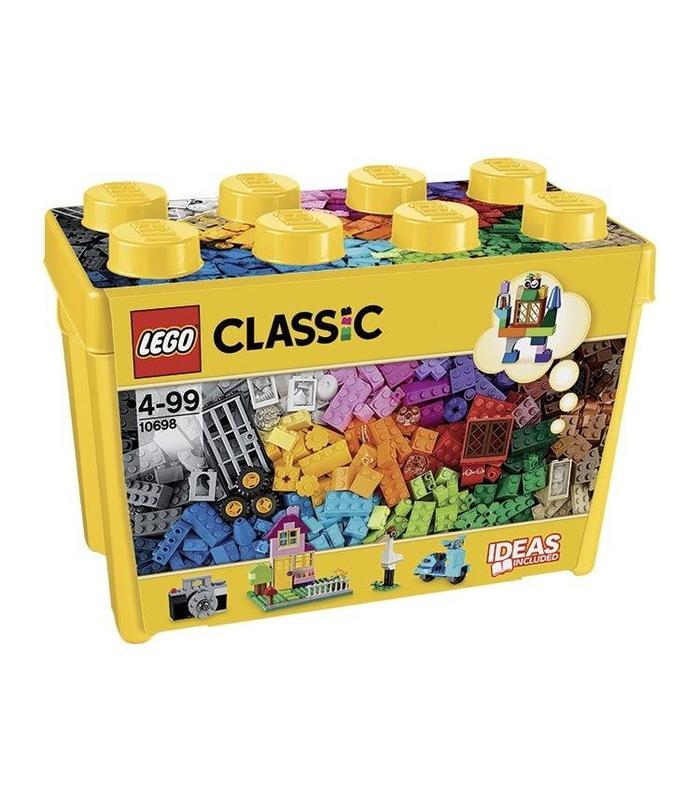 Layman 10698 Brick Box Large Toy Store Articles Created Handbook