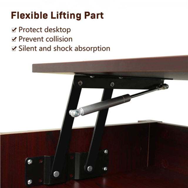 Coffee Table w/ Hidden Storage Compartment  6
