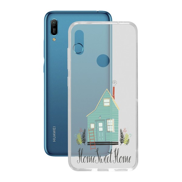Mobil kapak Huawei Y6 2019 esnek ev TPU title=