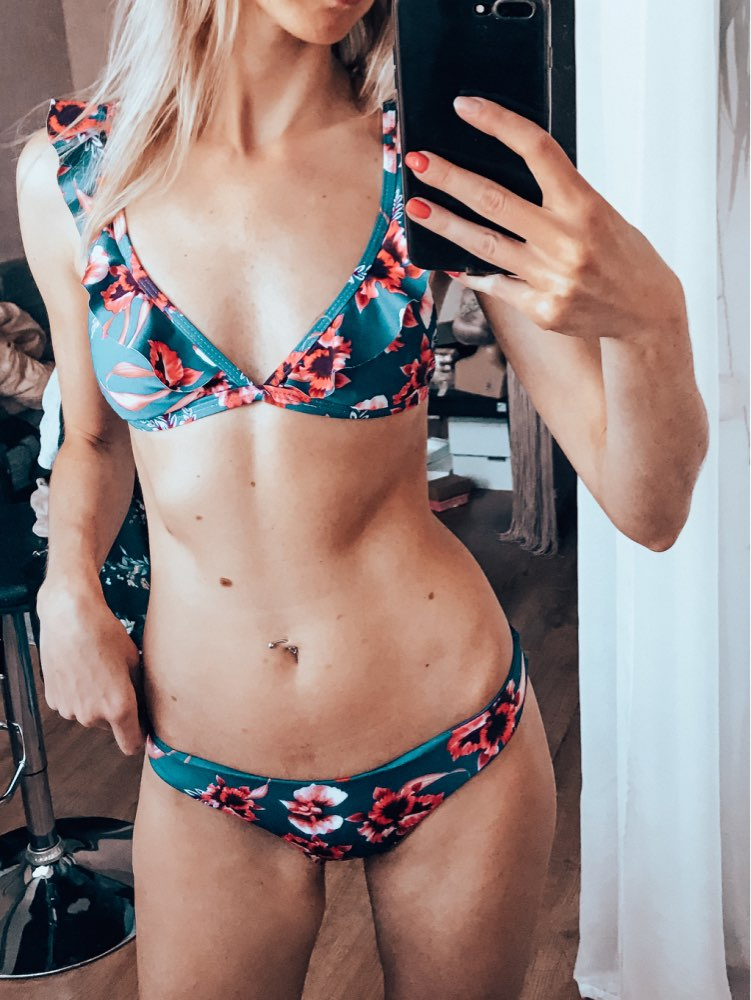 Women Push up Padded Bikini 2020 Hot Retro Swimsuit Print Swimwear Girls Summer Beachwear Female Bathing Suit Swimming Biquini|Bikini Set|   - AliExpress