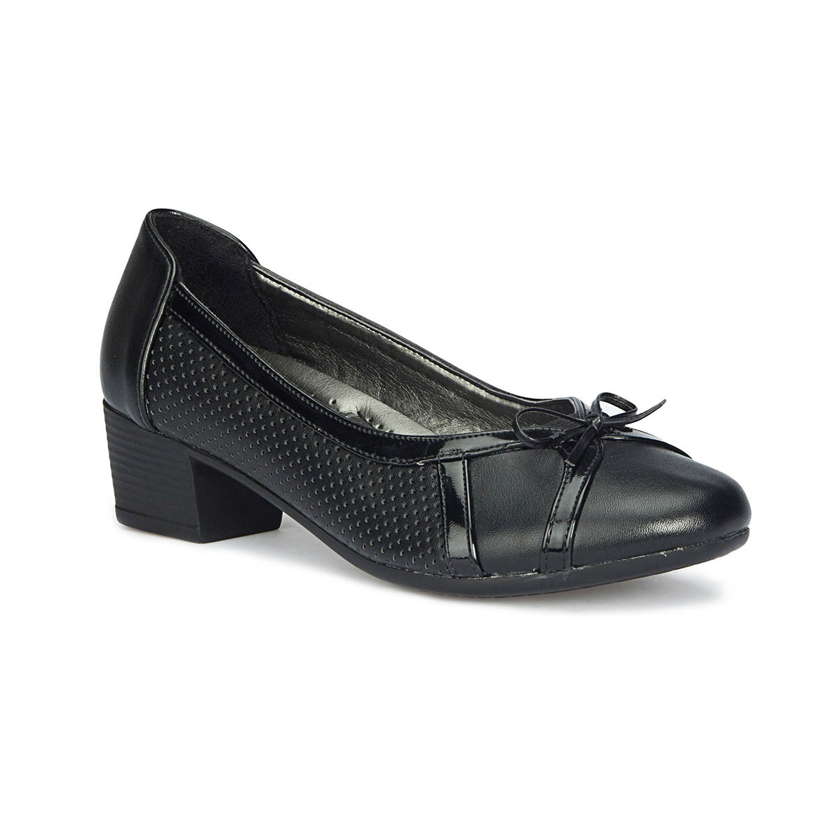 FLO 71. 157309.Z Black Women Ökçeli Shoes Polaris