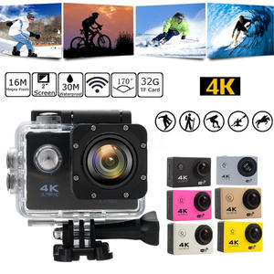 Camcorder Travel-Kit-Set Action-Camera Outdoor-Recorder Photography Wifi Waterproof Sport
