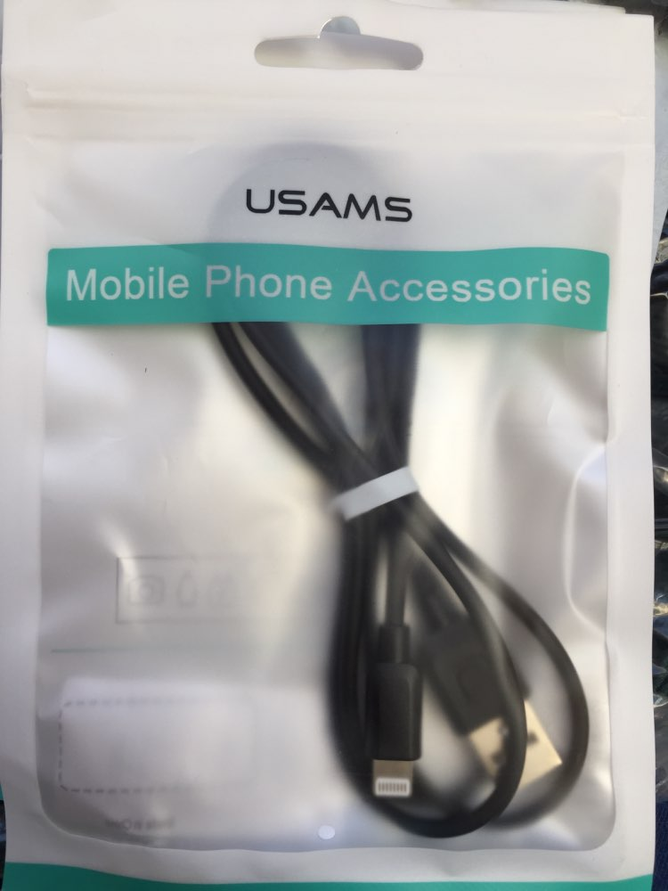 USB Cable for iPhone xr,USAMS iOS 2A Fast Charging Cable for iPhone XS X 8 7 6 5 iPad Data Sync USB  Charger for lighting Cable|Mobile Phone Cables|   - AliExpress
