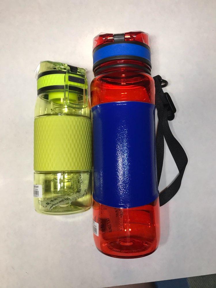 UZSPACE 350ml Infuser Water Bottle Plastic Fruit infusion Kids Drink Outdoor Sports bottle Juice lemon Portable Kettle BPA Free-in Water Bottles from Home & Garden on AliExpress