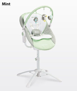 Hammock, swing and highchair KIVI CARETERO, for babies from birth, rocking mechanism, vibration and melody, remote CONTROL