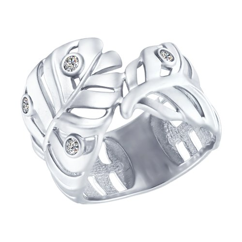 SOKOLOV Ring With Cubic Silver