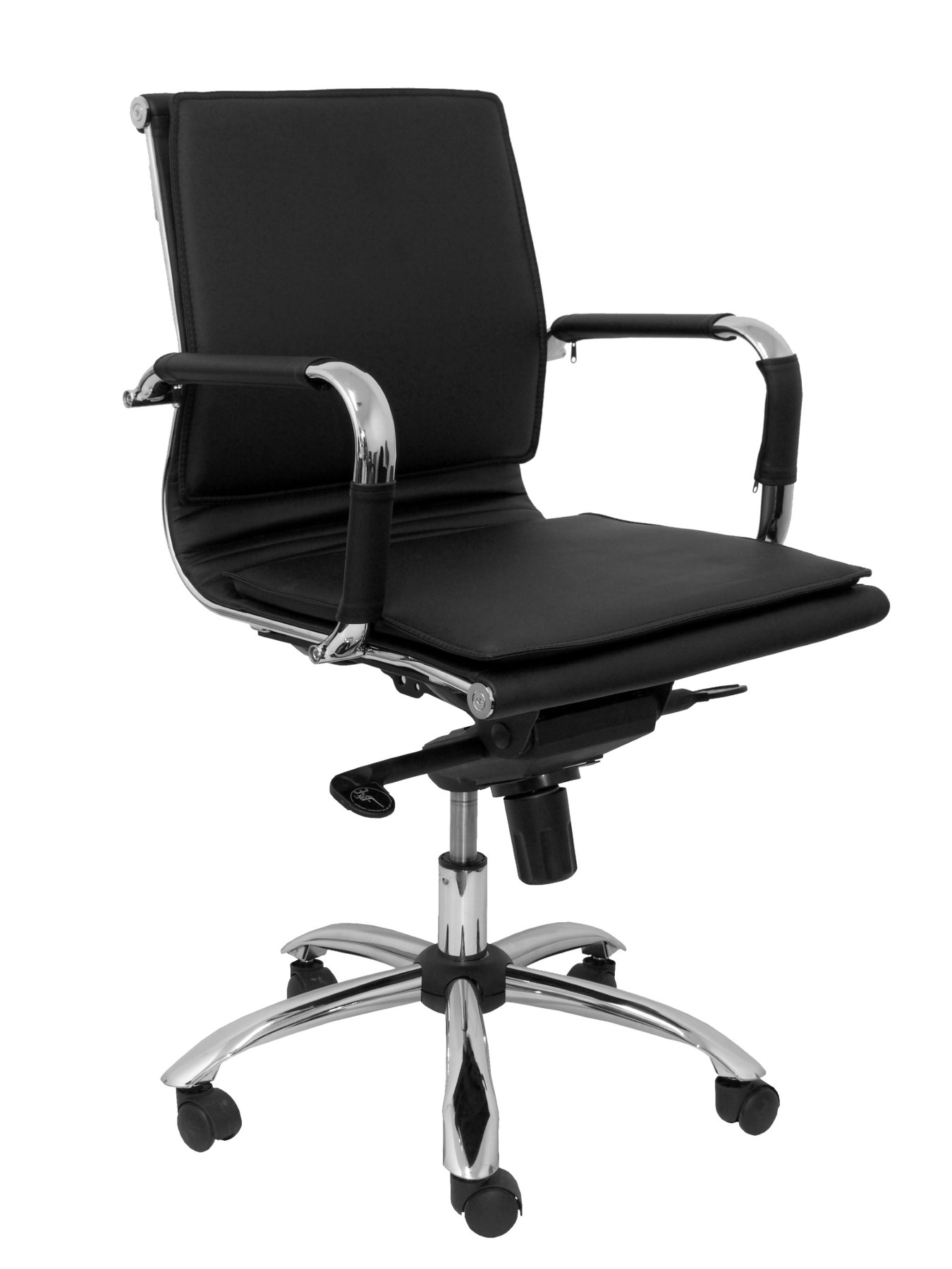 Office's Armchair Ergonomic Confidante/waiting With House Mechanism Tilting Multi Position And Dimmable In High Altitude Up Seat
