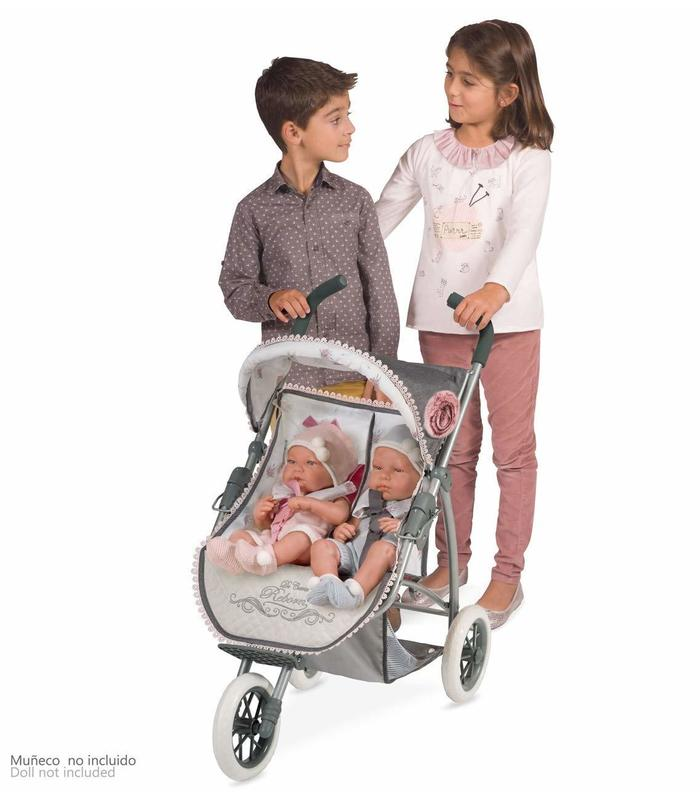 Reborn Twin Chair For Doll Folding Toy Store