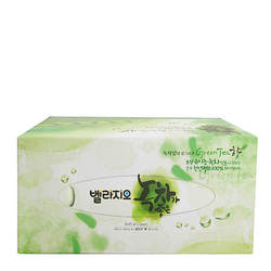 Toallitas faciales Monalisa Bellagio té verde tejido Facial 210 Uds