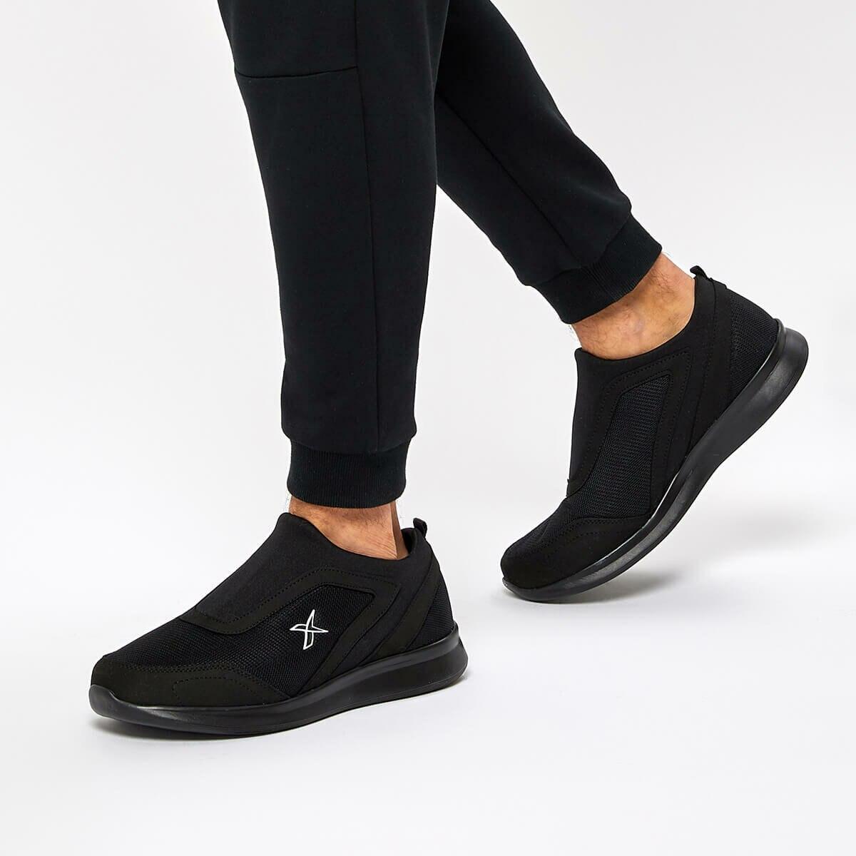 FLO RODY Black Men 'S Comfort Shoes KINETIX