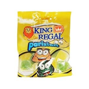 Parisien, assorted jelly beans, 100 gr sachet. King Regal