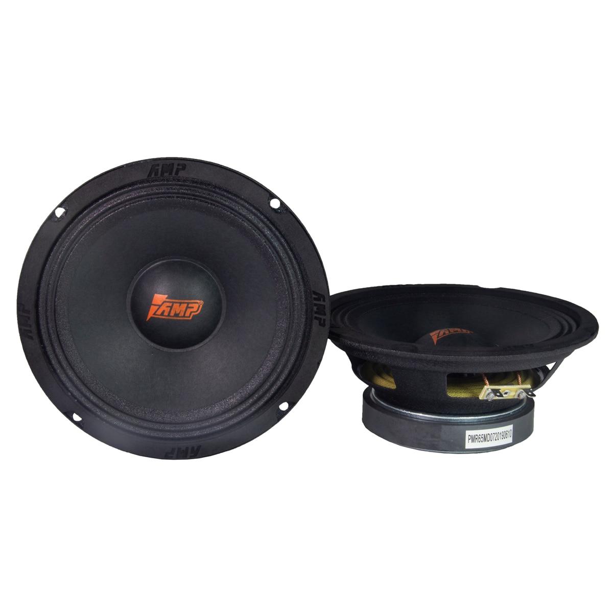 Amplificador PRO MR65MD altavoces de audio para coche midrange 90W 4Ohm 6,5 pulgadas