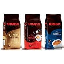 Lot de Café en Grains Kimbo - (3 Paquets de 500g)-soit 100% Arabica, exprimé arôme Intense napolitain