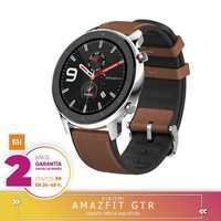 Dla Xiaomi Huami AMAZFIT GTR ekranu Smartwatch siatkówki 5ATM wodoodporny GPS 47mm wersja globalna-ze stopu aluminium ze stopu aluminium