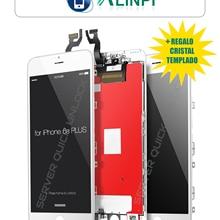 Pantalla Completa para iPhone 6S Plus Blanca Tactil Digitalizador + LCD + Marco Blanco + Cristal Templado Calidad AAA+ Envio 24h
