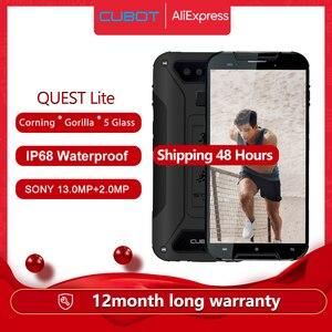 Cubot Quest Lite IP68 спортивные прочный телефон MT6761 5,0