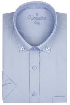 Short Sleeve Mens shirt Regular Cotton Shirts Casual Dress Short-Sleeved Shirts Twill Blue Shirts For Men Clothes Camisa S-XXXL women s fashionable collared short sleeved dacron dress w belt deep blue xl