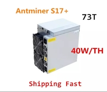 AntMiner S17 + 73TH/S d'occasion, avec PSU BTC BCH Miner mieux que S9 S15 S17 S17 Pro S17E T9 + T17 T17E whatsapp M3X M21S M20S Ebit